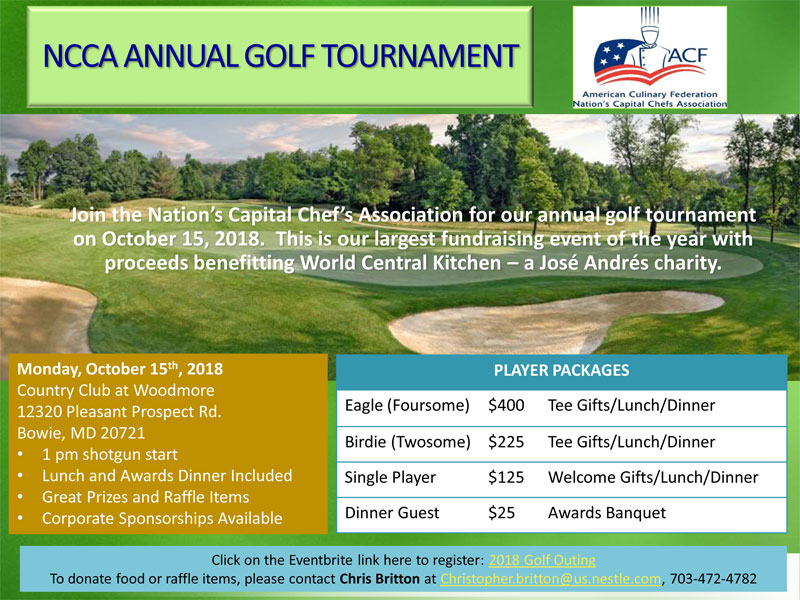 NCCA Annual Golf Tournament 2018