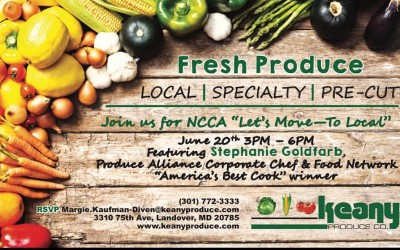 Let's Move to Local Foods
