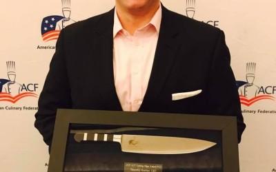 Congratulations Chef Tim Recher