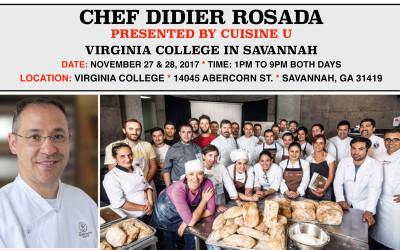 Chef Didier Rosada