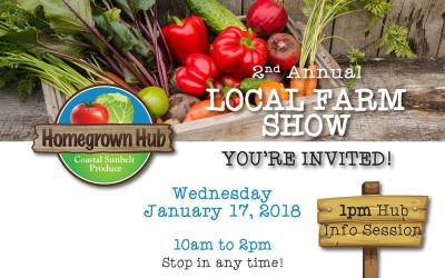 2nd Annual Local Farm Show