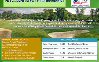 NCCA Annual Golf Tournament 2018