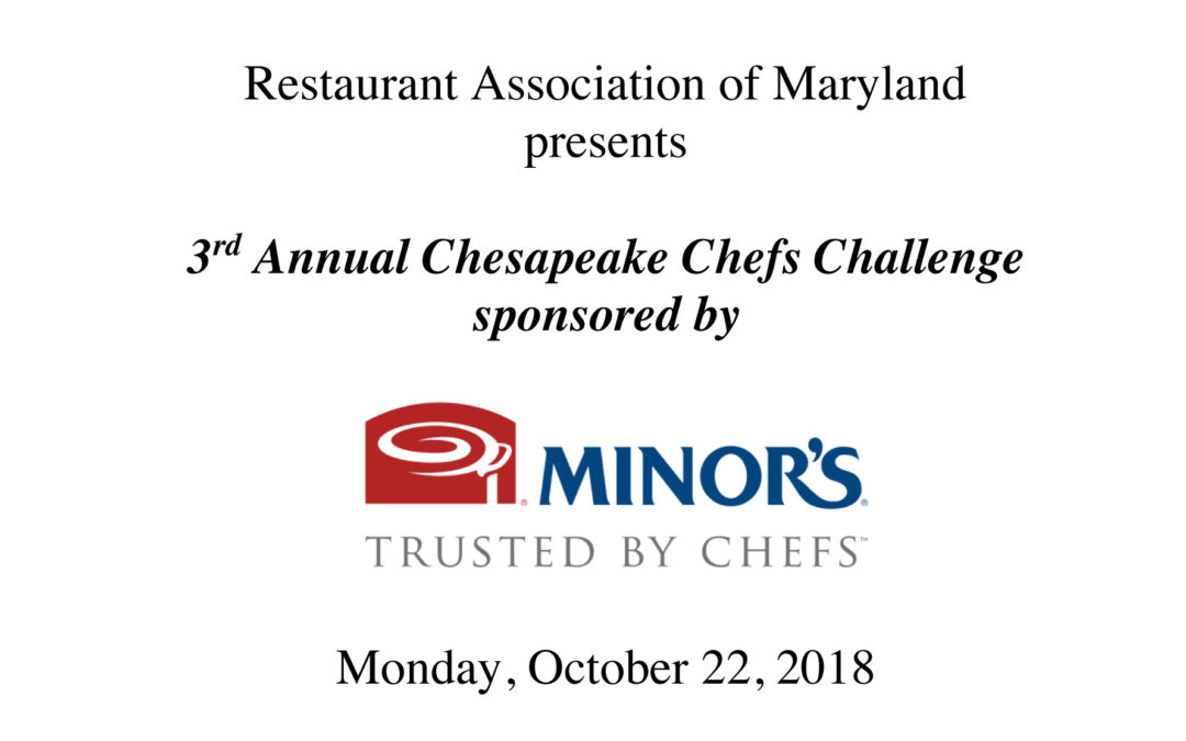 3rd Annual Chesapeake Chefs Challenge