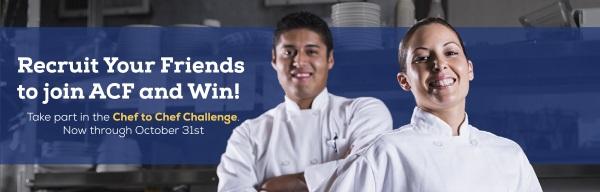 Chef-to-Chef Challenge