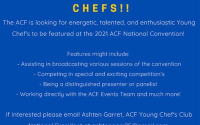 Ignite Your Passion – Calling Young Chefs!